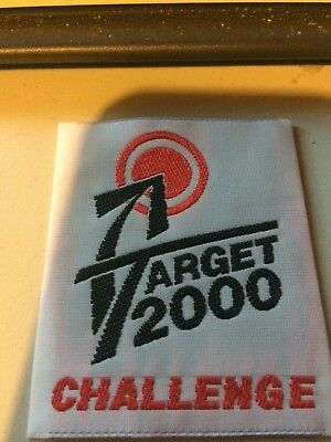 Girl Guides / Scouts Target 2000 White