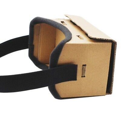 For Android Phone Cardboard 3D Glasses VR Box Virtual Reality Google Video Film
