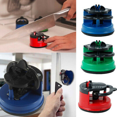 Suction Cup Sharp Knife Knives Sharpener Mini Outdoors Kitchen Tools Gadget