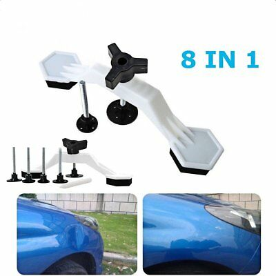 8 in 1 Car Body Repair Kit Auto Paintless Dent Ding Hail Removal Tool Puller Set