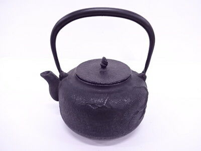 3826609: Japanese Tea Ceremony / Nanbu Tekki Iron Kettle / Pine / Tetsubin