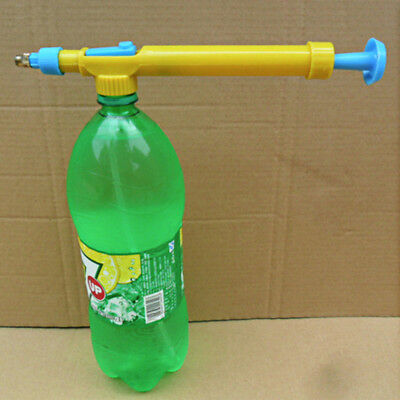 Plastic Sprayer Head Space Water Gun Toy Beverage Bottle Interface Pressure Type