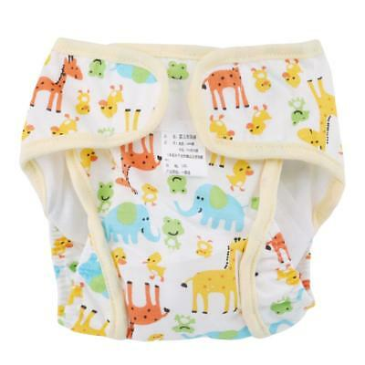 Baby Infant Cotton Soft Diaper Washable Waterp Breathable Nappy JJ