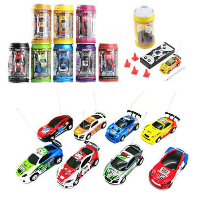 Coke Can Mini Speed RC Radio Remote Control Micro Racing Car Toy Gift New OSY Batteriebetriebene Fahrzeuge