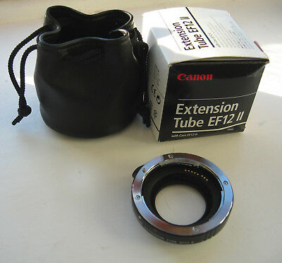 Canon Extension Tube EF12 II Excellent condition. UK seller