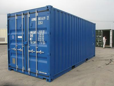 20ft x 8ft - 1 way/1 Trip  Shipping Container - North Wales