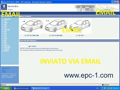 Peugeot Service Box 1/2014 Tis+Epc+Wds  2014 Workshop Manual Services Email