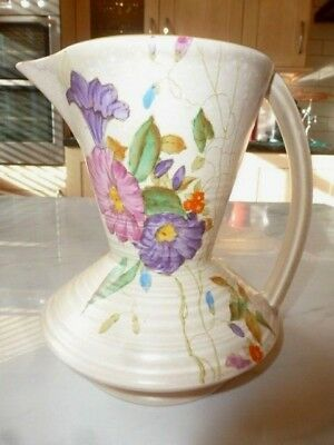 EARLY - James Kent - HAND PAINTED LARGE ART DECO JUG