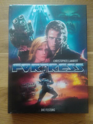 FORTRESS / UNRATED / Blu-ray+DVD MEDIABOOK Cover C / mit CHRISTOPHER LAMBERT