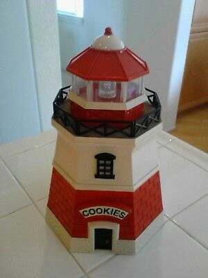 Light House Plastic Cookie Jar