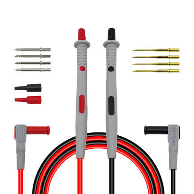 12-in-1 4mm Banana Plug Electronic Test Lead Multimeter Meter Test Probe Kit
