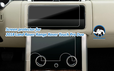 Clear Screen Protectors for 2018 Land Rover Range Rover Touch Pro Duo