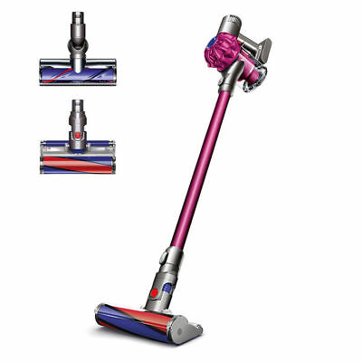 Manufacturer Refurbished Dyson SV04 V6 Absolute Cordless Vacuum Fuchsia Color