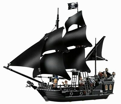 La perla nera pirati dei caraibi the black pearl  - Lego compatibile - nuovo -