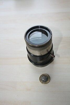 Vintage Lens by Ed. Leisegang, Dusseldorf with Projection Case