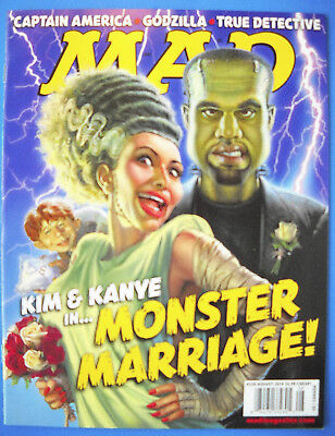 """MAD MAGAZINE #528 August 2014 NM Never on Newsstand """"Combined Shipping to US"""""""
