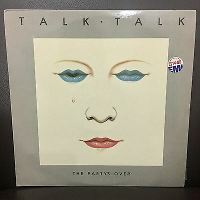 Rare TALK TALK The Partys Over Malaysia Singapore EMI Release LP Record