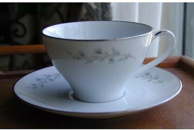"""Noritake Tilford  China 2 3/8"""" Cup & Saucer Superb Condition (S)"""