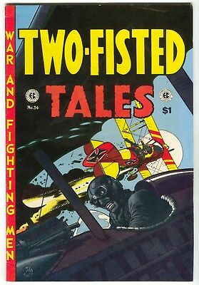 EC Classic Reprints 9 Russ Cochran 1973 FN Two-Fisted Tales 34 Wally Wood