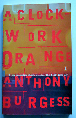 A CLOCKWORK ORANGE Anthony Burgess Penguin paperback excellent condition