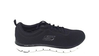 SKECHERS WOMEN'S FLEX Appeal 2.0 Black Newsmaker Sneaker