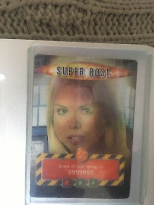 Doctor Who Battles In Time - Super Rose - Very Rare Card