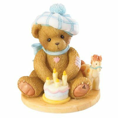 Enesco Cherished Teddies 4020575 Happy Fourth Birthneighh! Figurine NIB