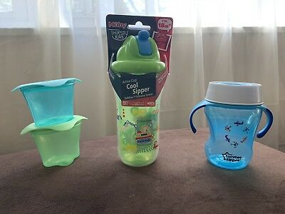 Nuby No Spill Toddler Insulated Cup Tommee Tippee Explore 360 Vital Baby Pots
