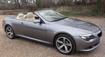BMW E63 6 SERIES CABRIOLET CONVERTIBLE 630i 04-10 F30//R25mm PI LOWERING SPRINGS