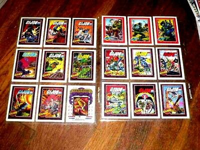 GI JOE TRADING CARDS Impel Action Figure Series 1 /196 Cards missing # 140 1991