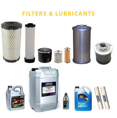 Takeuchi TB016 SUPREME Service Kit Filters and Lubricants