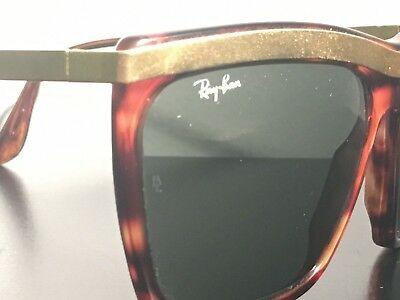 Rare Vintage RAY-BAN RAYBAN OLYMPIAN III B L made in Usa tortoise gafas 1fb5ae0757d2