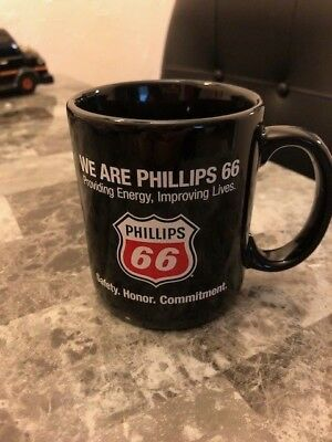 Phillips 66 Coffee Mug Cup We Are Phillips 66 Providing Energy Improving Lives