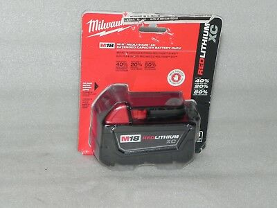 Milwaukee M18 Red Lithium XC 18V Extended Capacity Battery Pack 48-11-1828