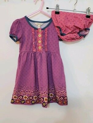 EUC Matilda Jane My Marionette Top Dress 18-24 Months with diaper cover