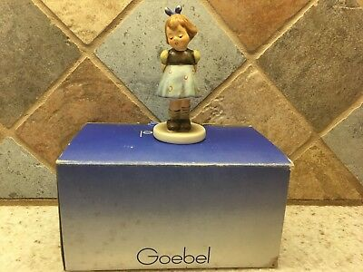 "Vintage~HUMMEL~GOEBEL~1988~#493~BEE~TWO HANDS ONE TREAT~4"" TALL~WITH BOX"