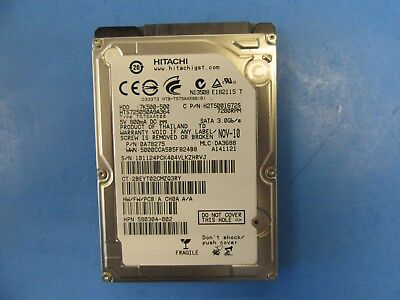 "Hitachi HGST 500GB 7200RPM 2.5"" Laptop SATA Hard Drive HTS725050A9A364 7K500"