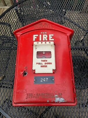 Vintage Gamewell Fire Alarm Box 1964 (With Inner Workings!)