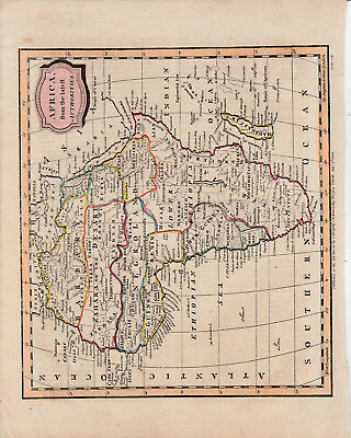 c1806 map of Africa by James Barlow