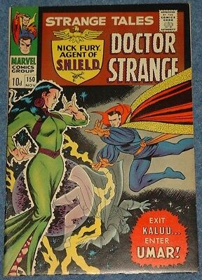 STRANGE TALES # 150 (1966)  Nick Fury Agent of SHIELD & Doctor Strange!
