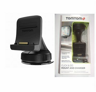 Tomtom Fare Clic & Go Auto Active Dock Supporto Go 500 5000 600 6000 9UUB.001.28