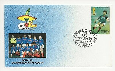 Grenadines St Vincent - Union Isle FDC -  World Cup Mexico 1986  (3548) (X)