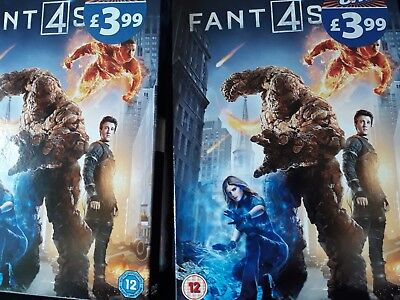 Fantastic Four dvd 2015