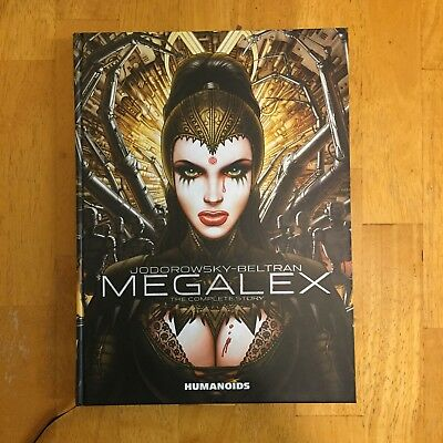 Megalex by Alejandro Jodorowsky and Beltran - Hardcover