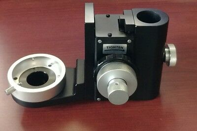 Nikon Microscope Inverted Condenser Bracket Holder Carrier