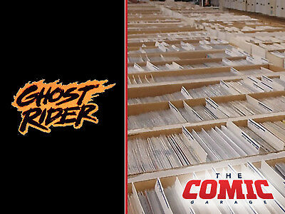 HUGE LOT OF 50+ GHOST RIDER COMICS Collection - No Duplicates - FREE SHIPPING