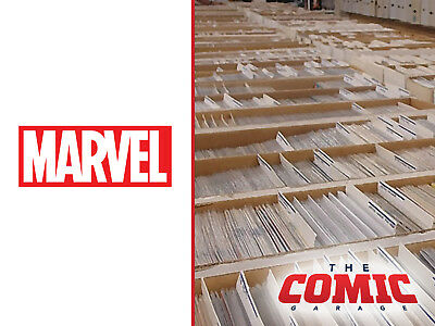 HUGE LOT OF 100+ MARVEL COMICS - No Duplicates - FREE SHIPPING