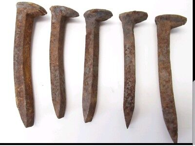 Railroad Spikes Antique
