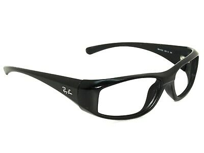 fdecf649963 RAY BAN SUNGLASSES FRAME ONLY RB 4103 Black Wrap Italy 57  18 135 ...