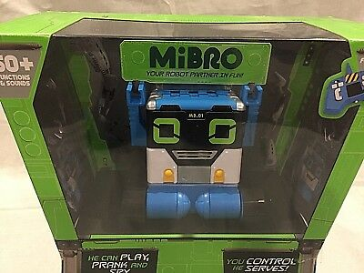 Really Rad Robots - MiBro Remote Control RC Robot Your Chattin' Buddy IN HAND